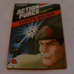 "Action Force "" FLINTS HOLIDAY "" Ladybird Book 1980'S @sold@"